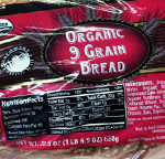 Trader Joe's Organic 9 Grain Bread