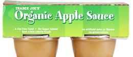 Trader Joe's Organic Apple Sauce