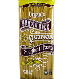 Trader Joe's Organic Brown Rice Quinoa Spaghetti Pasta