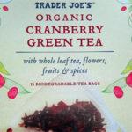 Trader Joe's Organic Cranberry Green Tea