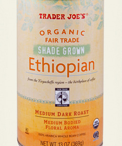 Trader Joe's Organic Fair Trade Shade-Grown Ethiopian Coffee