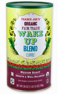 Trader Joe's Organic Fair Trade Wake Up Blend Coffee