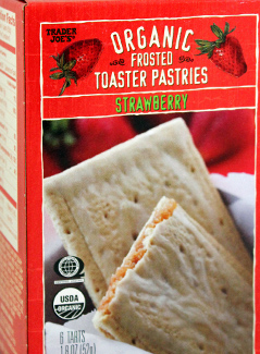 Trader Joe's Organic Strawberry Frosted Toaster Pastries