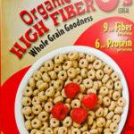 Trader Joe's Organic High Fiber O's