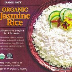 Trader Joe's Organic Jasmine Rice