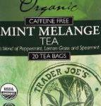 Trader Joe's Organic Mint Melange Tea