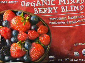Trader Joe's Organic Mixed Berry Blend