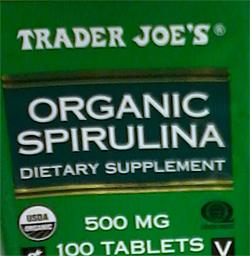 Trader Joe's Organic Spirulina