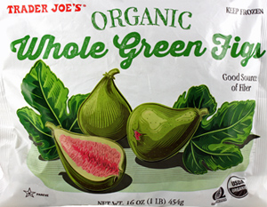 Trader Joe's Organic Whole Green Figs