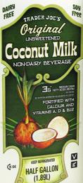 Trader Joe's Original Coconut Milk