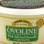 Trader Joe's Ovoline Whole Milk Fresh Mozzarella