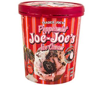 Trader Joe's Peppermint Joe-Joe's Ice Cream