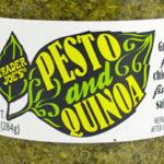 Trader Joe's Pesto and Quinoa Spread