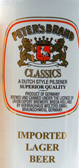 Peter's Brand Classics Lager Beer