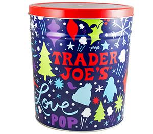 Trader Joe's Popcorn Tin