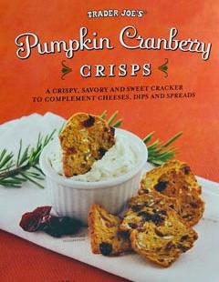Trader Joe's Pumpkin Cranberry Crisps
