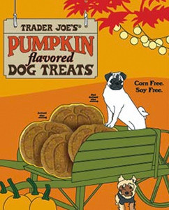 Trader Joe's Pumpkin Flavored Dog Treats