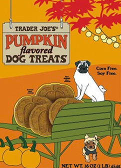 Trader Joe's Pumpkin Flavored Dog Treats