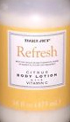 Trader Joe's Refresh Citrus Body Lotion