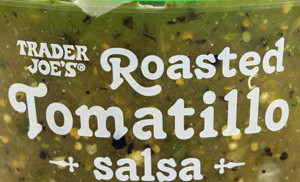 Trader Joe's Roasted Tomatillo Salsa