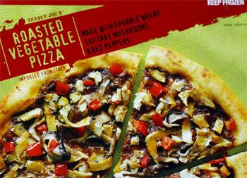 Trader Joe's Roasted Vegetable Pizza