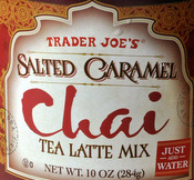 Trader Joe's Salted Caramel Chai Tea Latte Mix