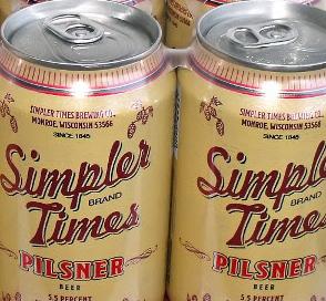 Simpler Times Pilsner
