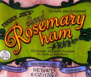 Trader Joe's Sliced Rosemary Ham