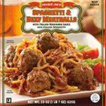 Trader Joe's Spaghetti & Beef Meatballs