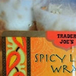 Trader Joe's Spicy Lentil Wrap
