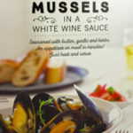 Trader Joe's Steamed Mussels in a White Wine Sauce
