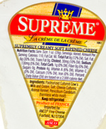 Supreme Double-Cream Soft-Ripened Cheese