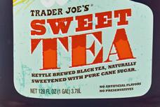 Trader Joe's Sweet Tea