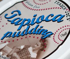 Trader Joe's Tapioca Pudding