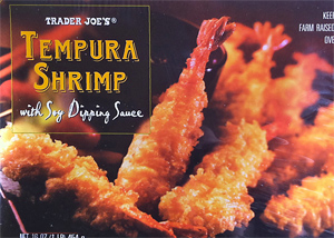 Trader Joe's Tempura Shrimp with Soy Dipping Sauce