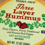 Trader Joe's Three Layer Hummus