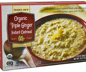 Trader Joe's Triple Ginger Instant Oatmeal