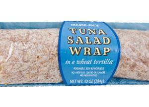 Trader Joe's Tuna Salad Wrap