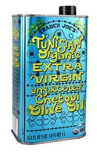 Trader Joe's Tunisian Organic Extra Virgin Olive Oil