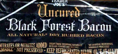 Trader Joe's Uncured Black Forest Bacon