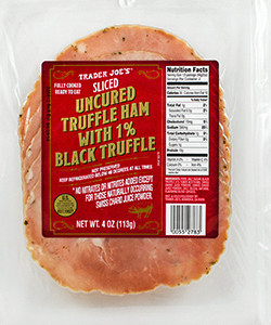Trader Joe's Sliced Truffle Ham