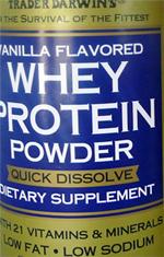 Trader Joe's Vanilla Flavored Whey Protein Powder