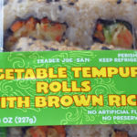 Trader Joe's Vegetable Tempura Rolls with Brown Rice