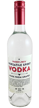 Trader Joe's Versatile Spirit Vodka