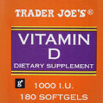 Trader Joe's Vitamin D Dietary Supplement