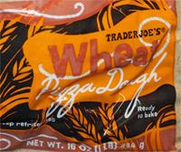 Trader Joe's Whole Wheat Pizza Dough