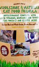 Trader Joe's Wholesome & Natural Cat Food Formula