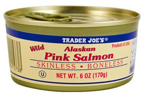 Trader Joe's Wild Alaskan Pink Salmon