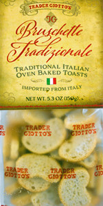 Trader Joe's Bruschette Tradizionale Oven Baked Toasts