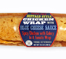 Trader Joe's Buffalo Style Chicken Wrap with Blue Cheese Sauce
